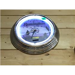 Remington Neon Clock