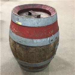 "Wooden Barrel ""North West BRG Co. Edmonton"""