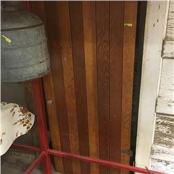 Vintage Door: Vertical Slat