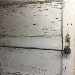 Vintage Door: 5 Panel - White