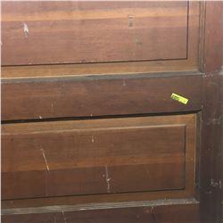 Vintage Door: 5 Panel - Brown