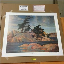 Limited Edition Prints - Group of Seven : Island Georgian Bay