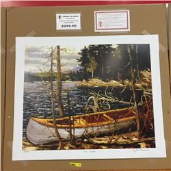 Limited Edition Prints - Group of Seven : The Canoe