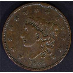 1832 CLASSIC HEAD HALF CENT, AU