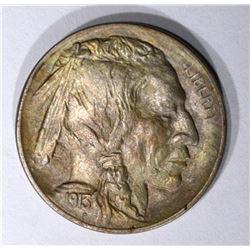 1913 TYPE 1 BUFFALO NICKEL GEM BU