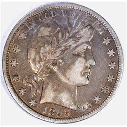 1895-O BARBER HALF DOLLAR, VF