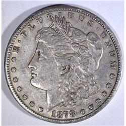 1878-CC MORGAN DOLLAR XF-AU