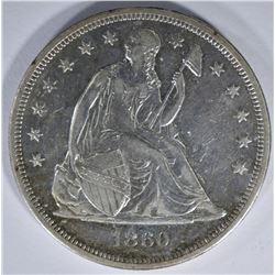 1860-O SEATED LIBERTY DOLLAR