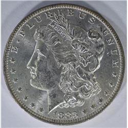 1883-O MORGAN DOLLAR, CH BU