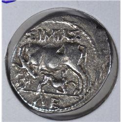 225-100 BC SILVER VICTORIATUS  CH.XF