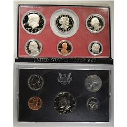 2 UNITED STATES PROOF SETS: