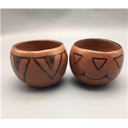 Pair of Vintage Tohono O'odham Pots