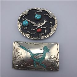 Pair of Western Style Belt Buckles