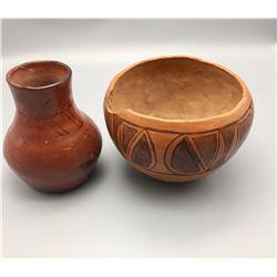 Maricopa and Tohono O'odham Pottery