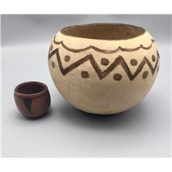 Pair of Tohono O'odham Pots