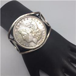 Vintage Bracelet with Morgan Silver Dollar