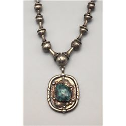 Unique Vintage Spinner Necklace