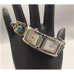 Unique, Vintage Ladies Watch Bracelet