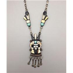 Vintage Zuni Necklace - Andy Dewa