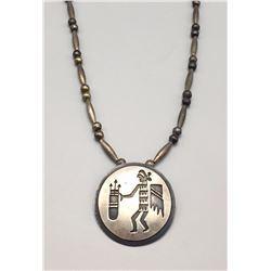 Unique Sterling Silver Vintage Necklace