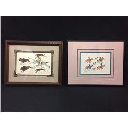 Pair of Original Irving Toddy Paintings