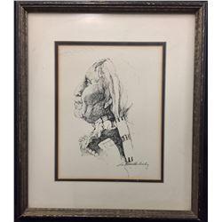 Original Art Signed, Lee Hamilton Bailey