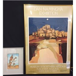 Signed D. Namingha Poster and Hopi Print