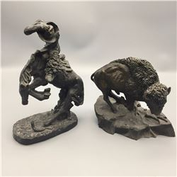 2 Limited Edition Statues
