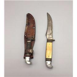 Pair of Vintage Western Brand Knives