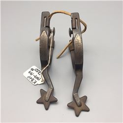 KB and P Pair of Spurs