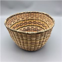Hopi Wicker Basket - Bowl