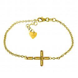 Genuine 1.15 ctw Citrine Bracelet Jewelry 14KT Yellow Gold - REF-53X2M