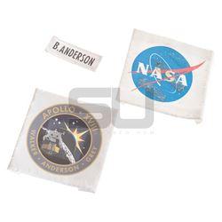 Apollo 18 - Space Suit Patches