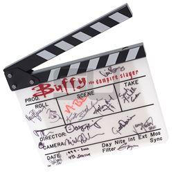 Buffy The Vampire Slayer (TV) - Cast & Crew Autographed Clapper Board