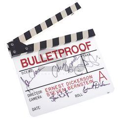 Bulletproof - Cast & Crew Autographed Clapper Board