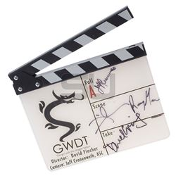 Girl with the Dragon Tattoo, The (2011) - Autographed Clapper Board