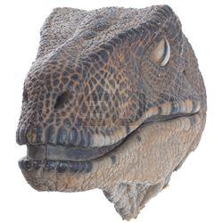 Jurassic Park - Velociraptor Paint Test Head