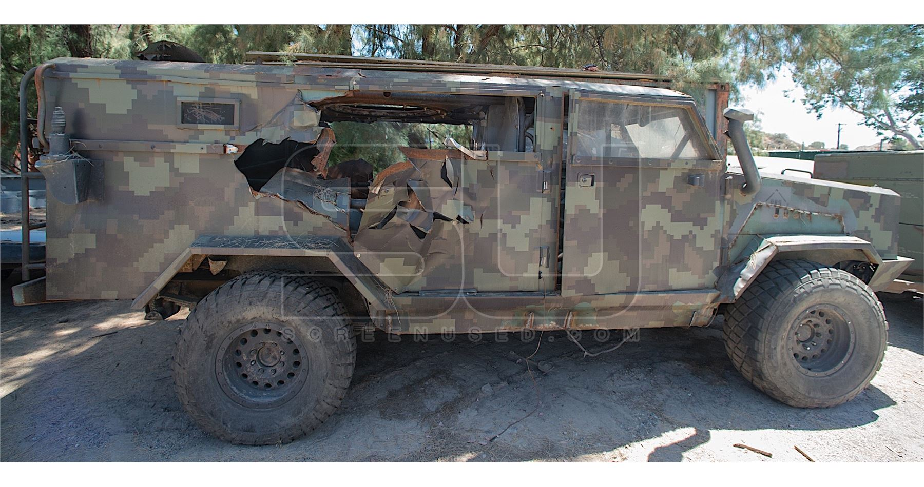 Sicario: Day of the Soldado - Hummer Type Vehicle | hummer type vehicle
