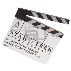 Star Trek: First Contact - Production Used Clapper Board