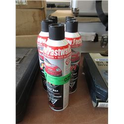 7 Tins High Performance Spray on Cleaning Wax