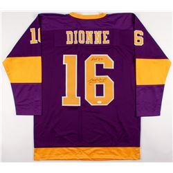 wholesale dealer 79117 f4694 Marcel Dionne Signed Kings Throwback Jersey Inscribed ...