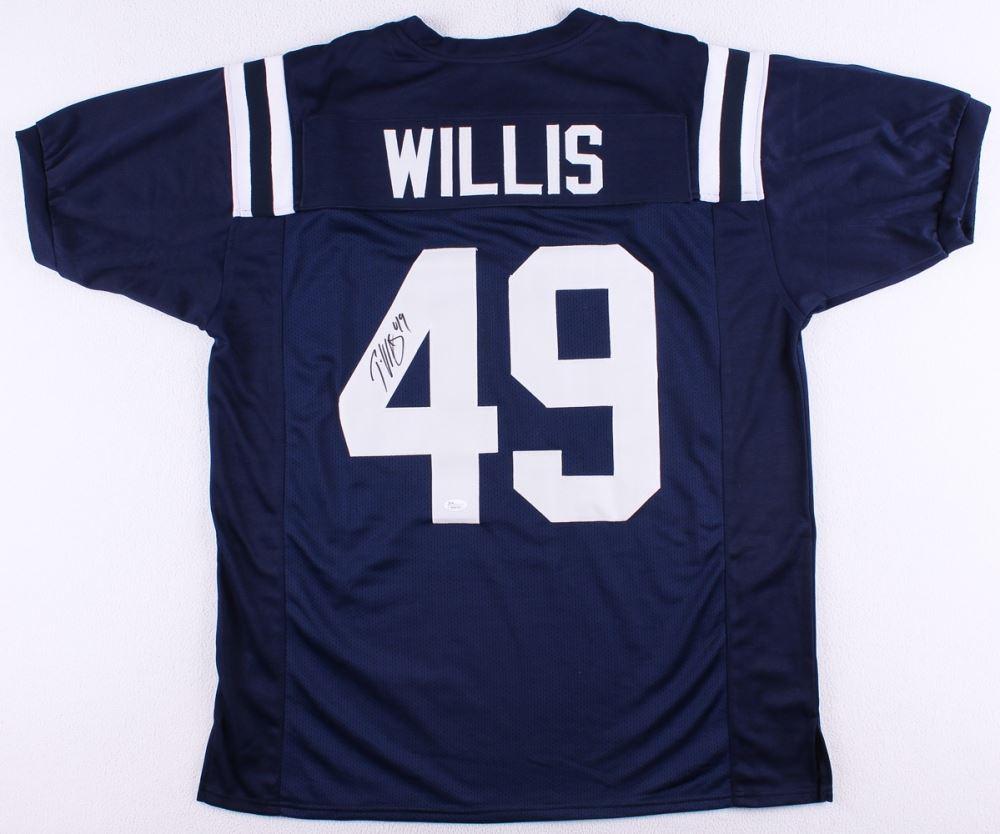 online store 3b035 e0aa2 Patrick Willis Signed Ole Miss Jersey (JSA COA)