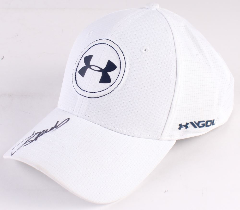 e484693840f Image 1   Jordan Spieth Signed Under Armour Fitted Hat (JSA COA)