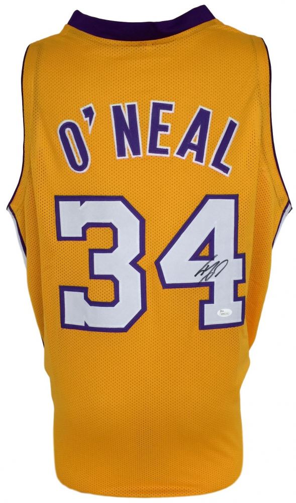 895fc5966 Image 1   Shaquille O Neal Signed Lakers Jersey (JSA COA)