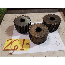 "Shell Mill 4"" x 2""1/2 x 1""1/4"