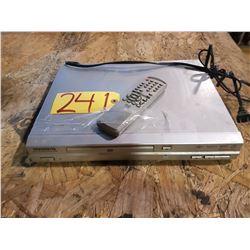 Magnasonic DVD player