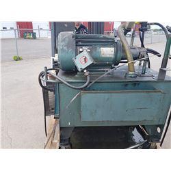 Hydraulic Unit Unimount 125 enclosed High Efficiency Motor