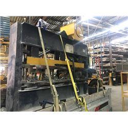 "Decrease Price: Hydraulic Press  100Ton +/- Cylinder 5""x14"""