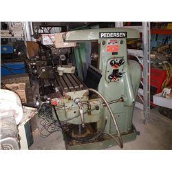 Pederson Milling Machine