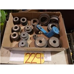 Box with assorted Sprocket